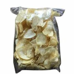 Fried Classic Salted Potato Wafers, Packet, Packaging Size: 1 Kg