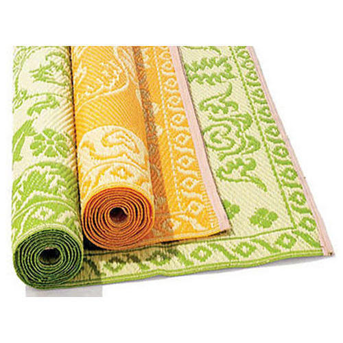 Printed Plastic Floor Mat Mat Size 6 To 8 Feet Rs 90
