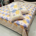Indian Traditional multi colour Printed Bedsheet