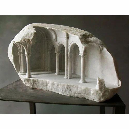 Stone Sculpture, For Interior Decor And Exterior Decor
