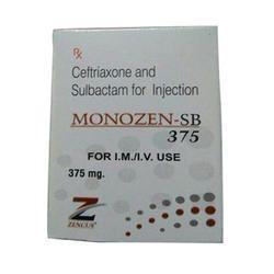 Ceftriaxone 250 Mg Sulbactam Sodium 125 Mg Injection