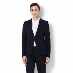 Cotton Formal Wear Ladies Plain Formal Suit, Wash Care: Dry Clean
