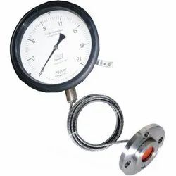 ANI Stainless Steel Bourdon Sealed Diaphragm Pressure Gauge