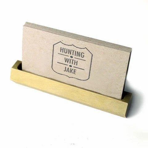 Brass business card holder brass tableware moradabad metal brass business card holder colourmoves