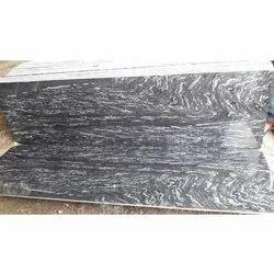 Markino Black Granite Slab, Thickness: 15-20 mm