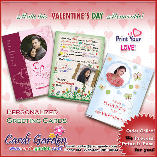 Cards garden alandur chennai ecommerce shop online business of product image personalized valentines day greeting cards m4hsunfo