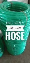 PVC Green Braided Hose Pipe