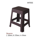 National - Mattise Plastic Stool