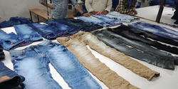 RIO Plain denims men's wear