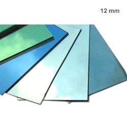Plain 12 Mm Reflective Tinted Glass