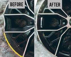 Alloy Wheel Bend Removal