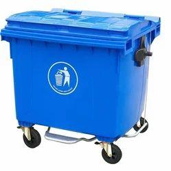 Plastic Dustbin Trolley