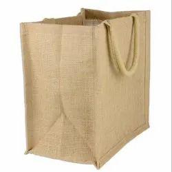 Brown AS Artisans Natural Burlap Tote Bags