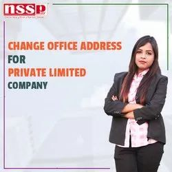 Change Office Address for Private Limited Company
