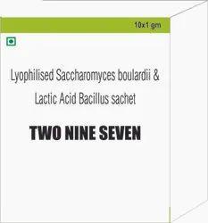 Saccharomyces Boulardi & Lactic Acid Bacillus Sachet