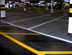 Parking Slots Marking Service with Thermoplastic Paint