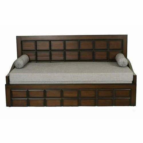 Pleasing 3 Fold Wooden Diwan Bed Cjindustries Chair Design For Home Cjindustriesco