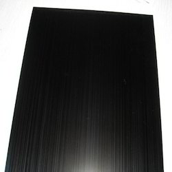 Blackened Stainless Steel Sheets
