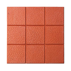 Rubble Floor Tiles Rubber Mould