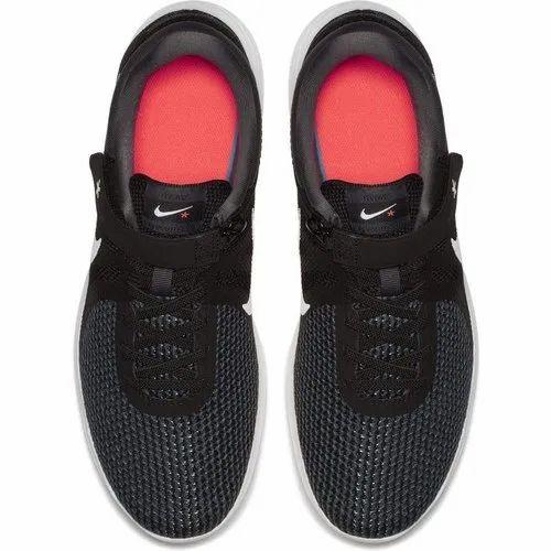 Nike Men's Revolution 4 Flyease BlackWhite Anthracite Running Shoes