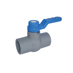 Solid Grey Ball Valve