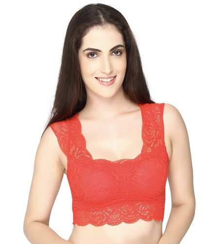 cb8eb80193 Mysha Red Saree Blouse Bra