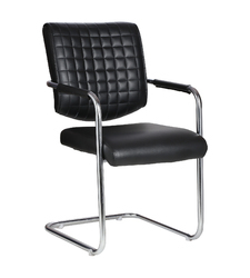 Aleman Visitor Black Chair