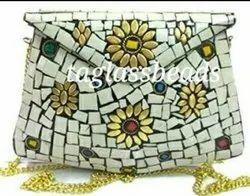 Mosaic Handmade Metal Clutch Purs