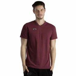 Cotton Large Arc Zinfandel V Neck T Shirt
