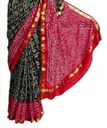Bandhani Print Pure Cotton Saree