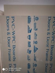 Grey Plain PVC Board