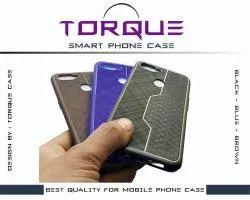 Black, Blue and Brown Samsung Troque Back Case
