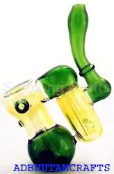 200 Grams Doubler Chamber Color Glass Bubbler