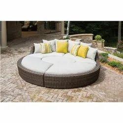 Metal(Frame) Designer Oudoor Sofa Bed, For Home