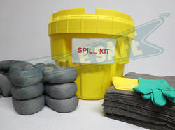 Solid and Granules Spill Absorbent Kits, Container Size: 5 To 1000 Litres