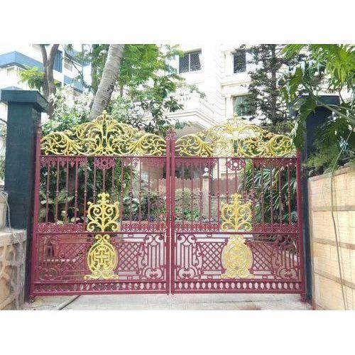 Mild Steel Entrance Gate