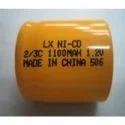 1100 Mah Industrial Batteries 1/2 C, Voltage: 1.2 V