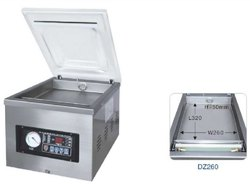 DZ-260 Single Chamber Vacuum Machine Table Top