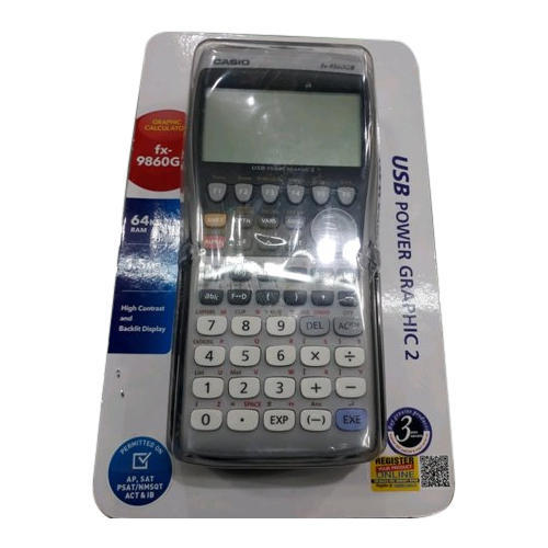 Casio FX 9860GII SD Power Graphic Calculator