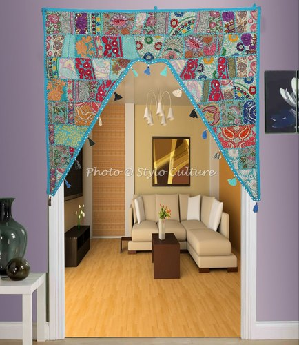 Ethnic Door Hanging Gifts Toran Embroidered Patchwork Window Valence
