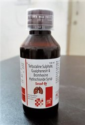 Terbutaline Sulphate, Guaiphenesin, Bromhexine Hydrochloride Syrup
