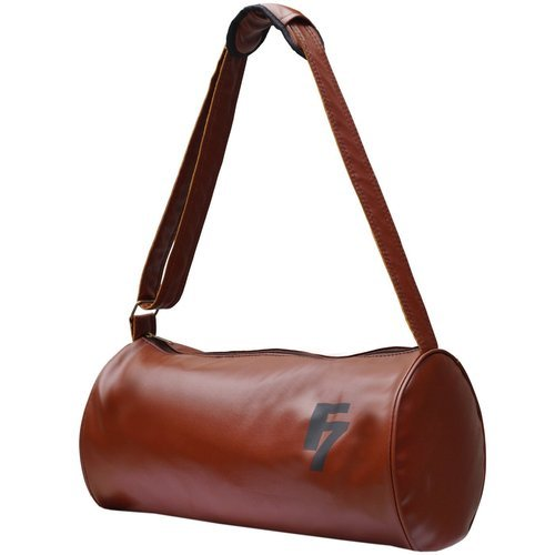 1c8471e3deb9 Brown Printed Gym Duffle Bags