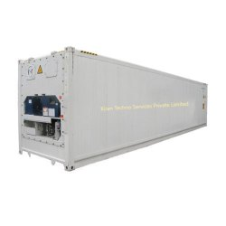 Galvanized Steel Used Refrigerated Containers, Size/Dimension: 20 - 40 Feet