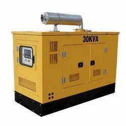 Silent Diesel Generator Rental, 220 V-440 V, for Industrial