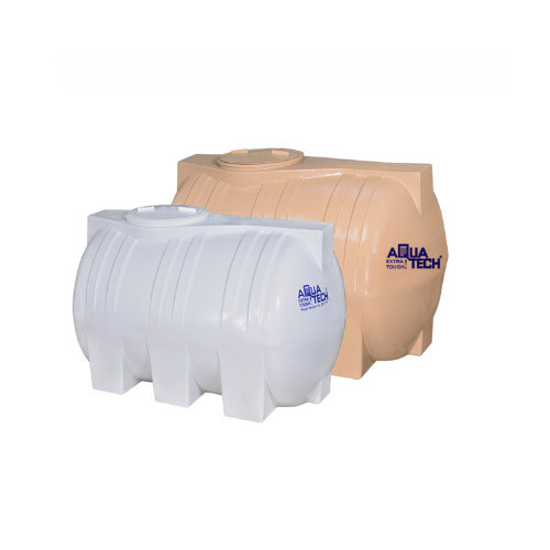 Aquatech White Ivory Horizontal Water Tank Capacity 1000 Liters Id 19550296255