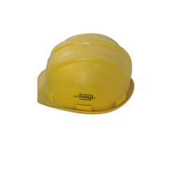 Yellow HDPE Construction Safety Helmet