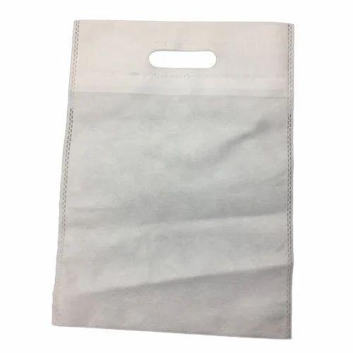 204c482e20 50 GSM Plain D Cut Non Woven Bag