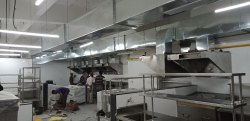 Stainless Steel Kitchen Ventilations Systems