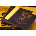 Single Fold Insert Royal Wedding Invitation Card