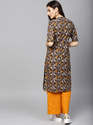 Printed Straight Kurta